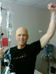 Matt Ellefson, lung cancer survivor undergoing chemo